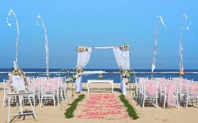 Beach Wedding Bali National Golf