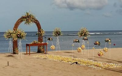 Beach Wedding Nusa Dua Beach Hotel